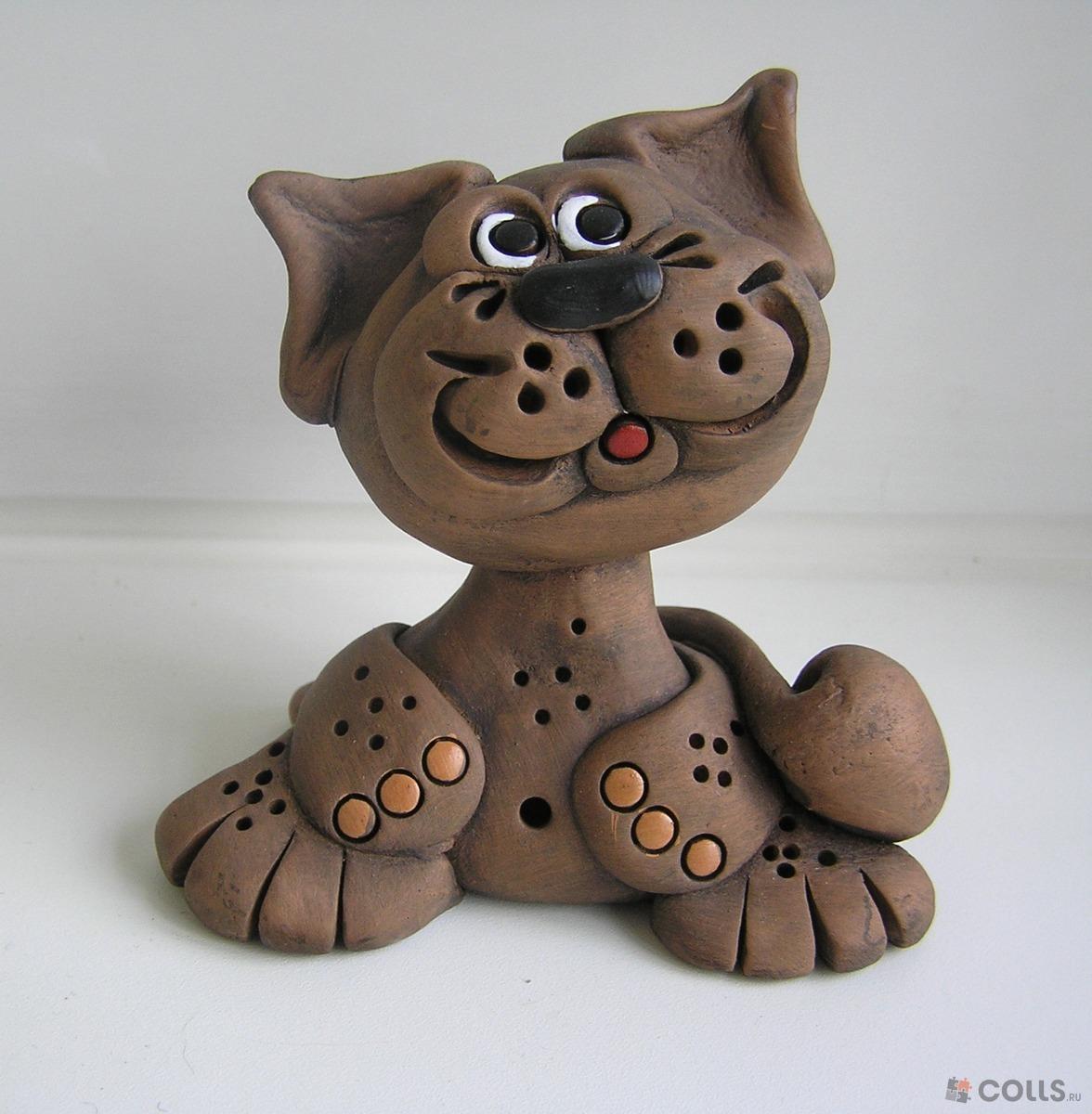 Фото фигурок из глины для детей