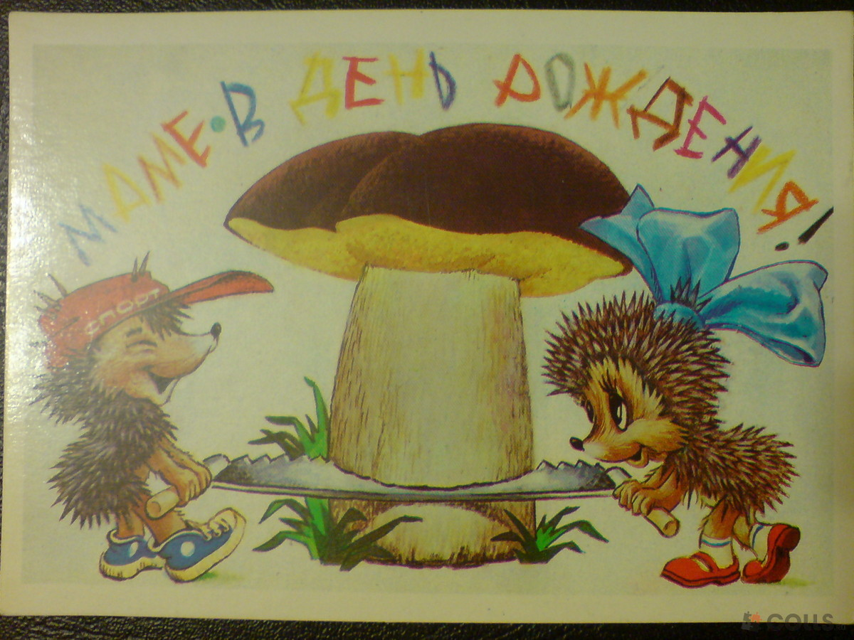Поздравление с днем рождения грибы