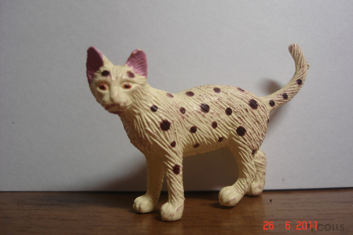 Поделка кошка из разных материалов 58