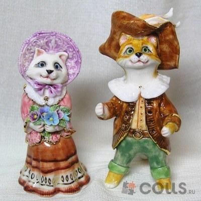 Фарфоровые котики Елены Зотовой картинка