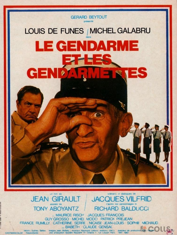 Жандарм и жандарметки 1982  советские фильмы